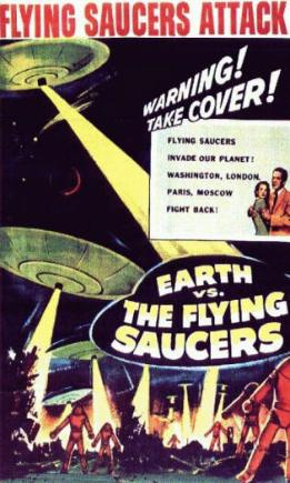 Earth vs. the Flying Saucers movie poster